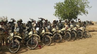 Nigerian Army inducts Combat Motorbike battalion in Fight Against Boko Haram